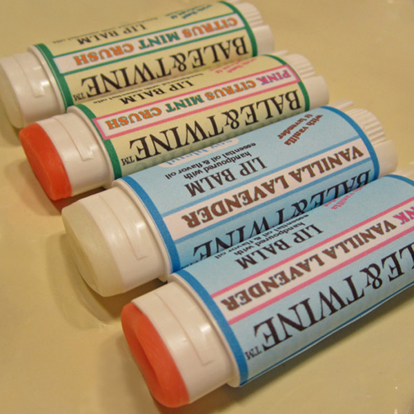 Lip Balm, PINK Citrus Mint Crush (tinted), Soy Blend, Lime, Grapfruit and Peppermint essential oils